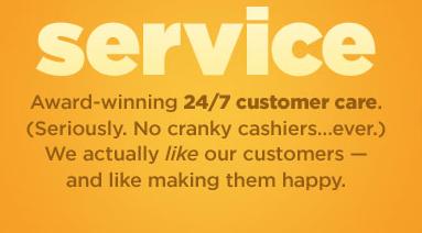 Soap.com - Service