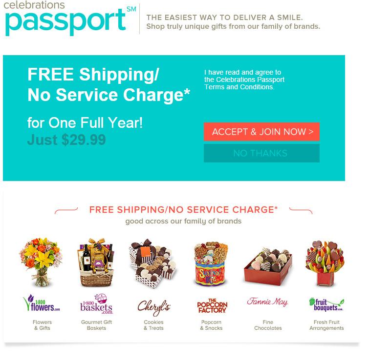 1800flowers Passport